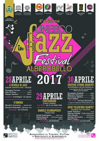 Unesco in Jazz Festival Alberobello